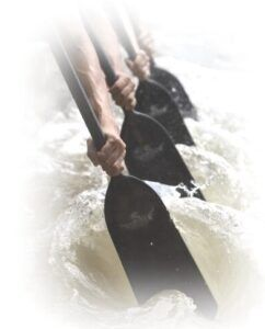 Paddling technique. What it should not look like.