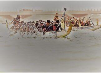 Dragon Boat Race Start
